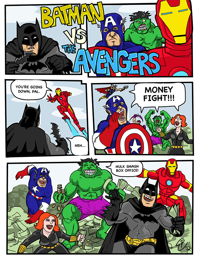 Batman vs. The Avengers, Paul Watson 21-06-12