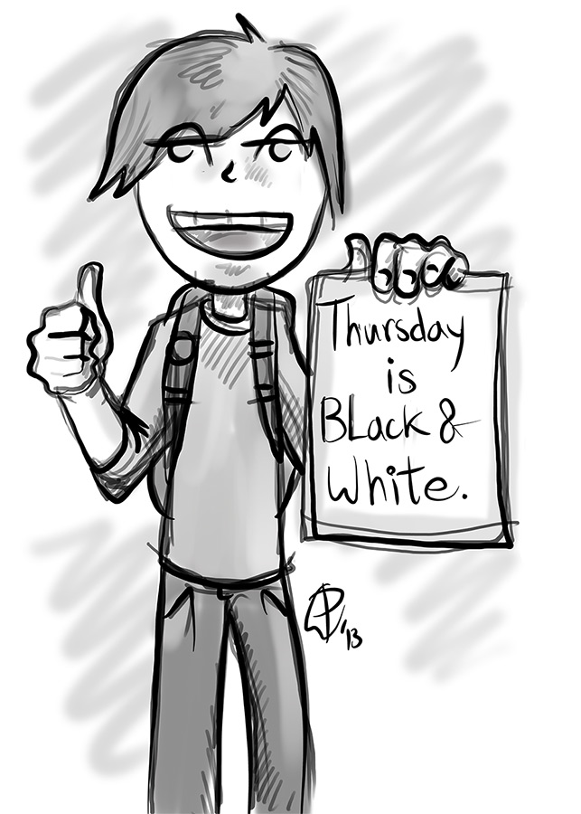 Black and white thursday, Paul Watson 16-05-13