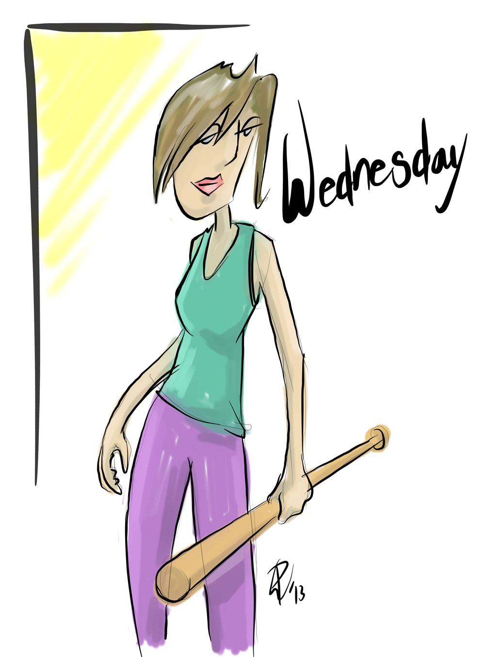 Wednesday Girl, Paul Watson 15-05-13