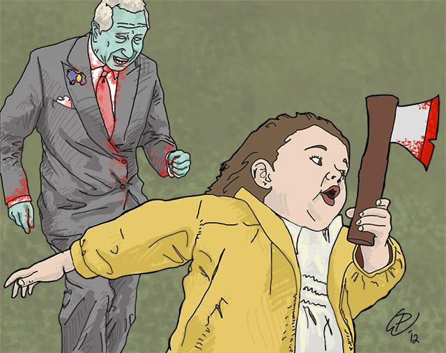Zombie Prince Charles, Paul Watson