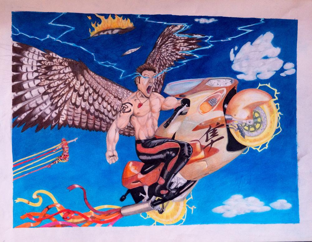 High school art, Paul Watson